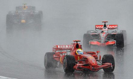 Meteorólogos de Fórmula 1 en paro